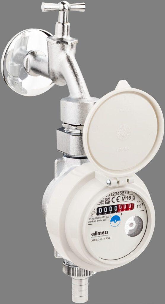Abwasserkosten sparen mit dem Allmess-Gartenwasserzähler.