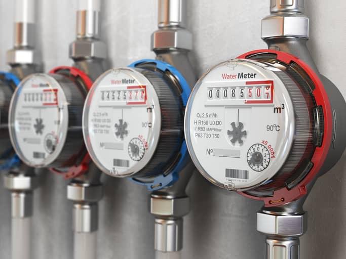 Wasserzähler, RS-Wärmemessdienst